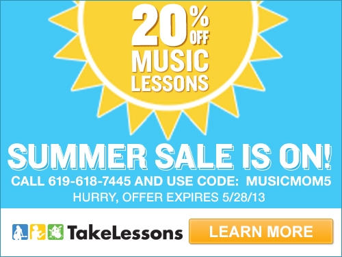 TakeLessons.com Summer Sale