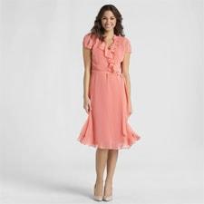 JBS Women's Ruffle Dress - Polka Dot