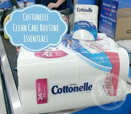 Cottonelle Clean Care Routine Essentials