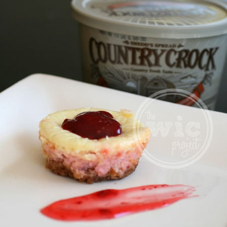 Strawberry Lemonade Cheesecake and Country Crock Spread
