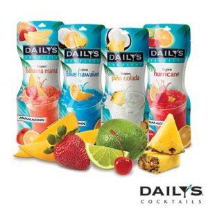 Daily's Cocktails Tropical Frozen Pouches