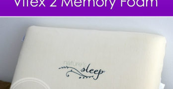 The Perfect Pillow: Nature's Sleep Vitex 2 Memory Foam Pillow