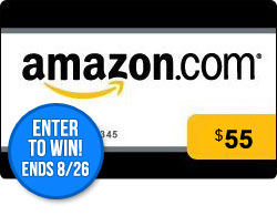 August $55 Amazon GC Giveaway