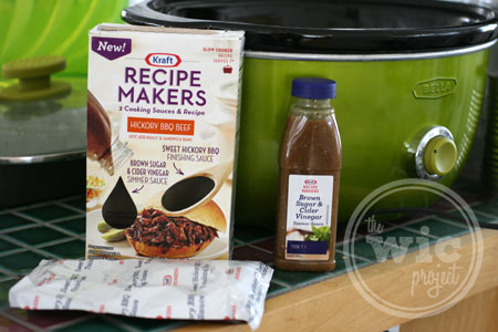 Hickory BBQ Beef Kraft Recipe Makers
