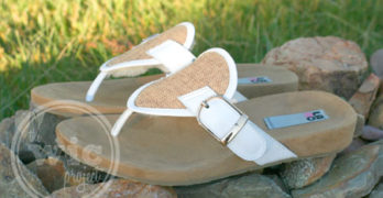 LAMO Sheepskin Footwear Garden Party Sandals