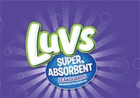 Luvs with Super Absorbent Leakguard Diapers