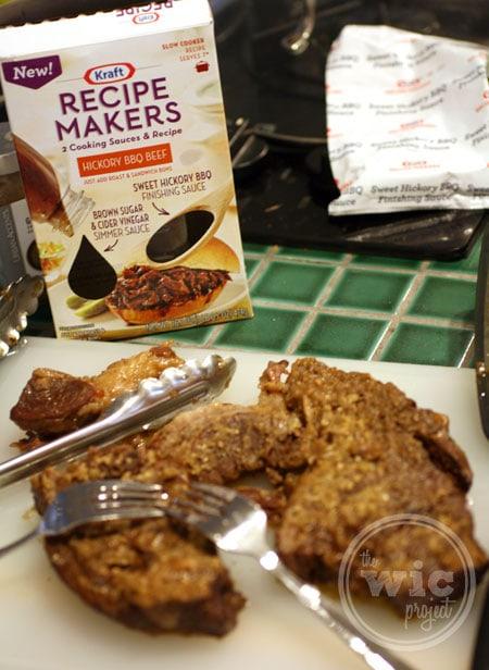 Hickory BBQ Beef Kraft Recipe Makers