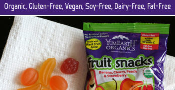 Pack Your Lunchboxes with YumEarth Organics Fruit Snacks