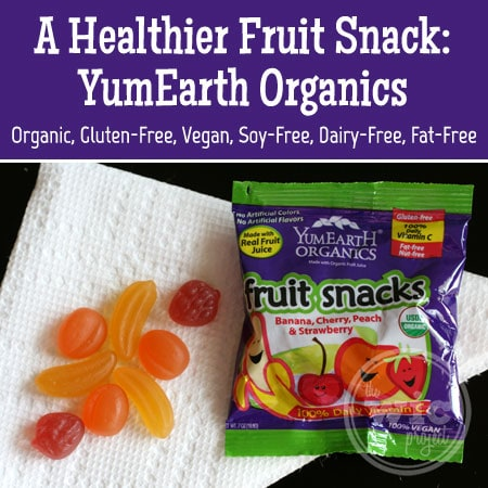 A Healthier Fruit Snack: YumEarth Organics Fruit Snacks