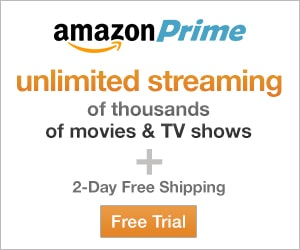 Amazon Prime Free Trial Membership