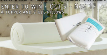 Nature's Sleep Topper & Pillows Sweepstakes