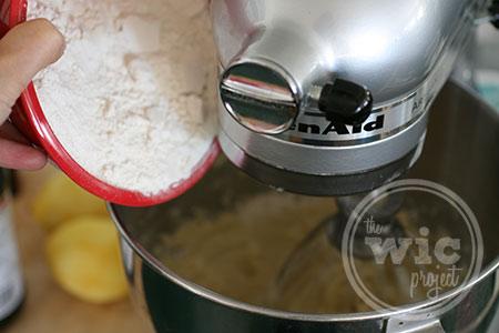 Cupcake Flour Mixture