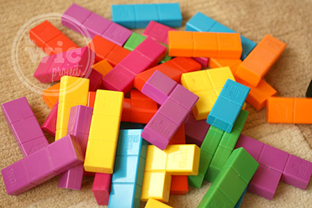Jenga Tetris Pieces