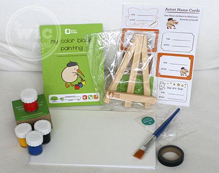 Kiwi Crate Color Block Painting Kit