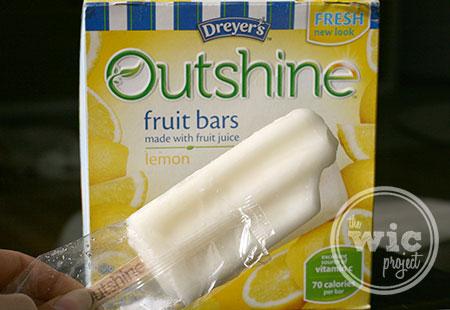 Lemon Outshine Fruit Bars #RealFruitBar #shop