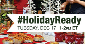 #HolidayReady Twitter Party - 12/17 #shop
