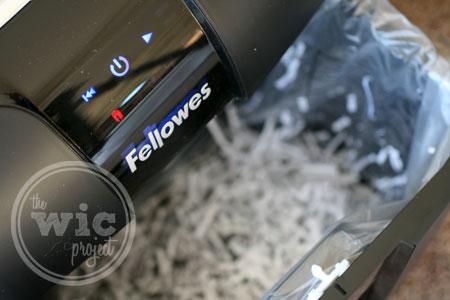 Fellowes 73Ci Paper Shredder Paper Bin