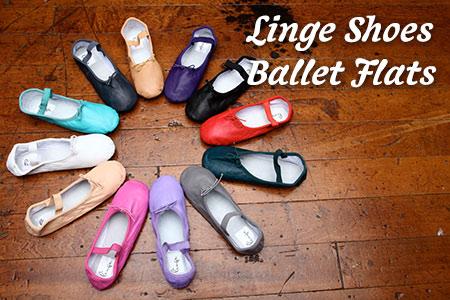 Linge Shoes Ballet Flat Colors