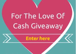 Enter to Win! $500 For the Love of Cash Giveaway