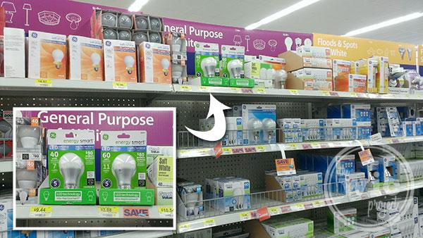 GE LED Energy Smart Light Bulbs at Walmart