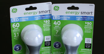 A New Way to Light with GE LED Energy Smart Light Bulbs #LEDSavings  #shop