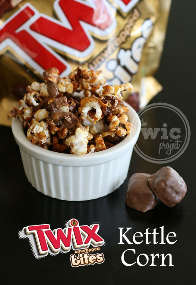 Twix Bites Kettle Corn