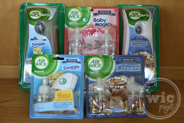 Air Wick Familiar Favorites Collection