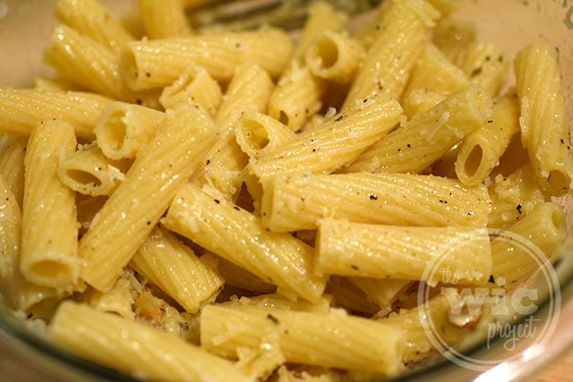 Recipes for pasta side dishes