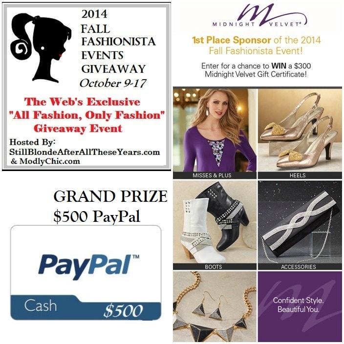Fall Fashionista Event 2014