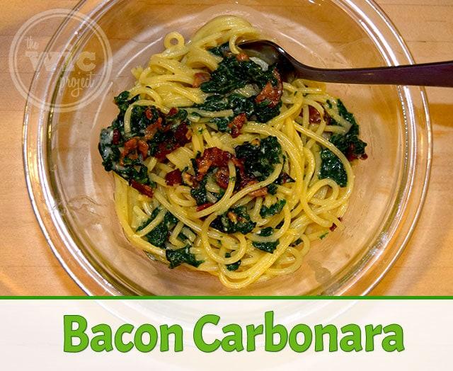 Bacon Carbonara Recipe