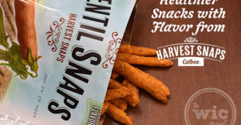 Healthier Snacks with Flavor from Harvest Snaps