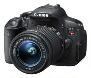 Canon - EOS Rebel T5i DSLR Camera with 18-135mm IS STM Lens - Black
