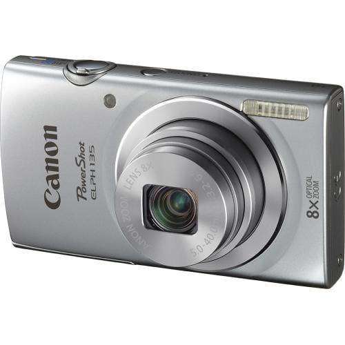 Canon - PowerShot ELPH-135 16.0-Megapixel Digital Camera - Silver