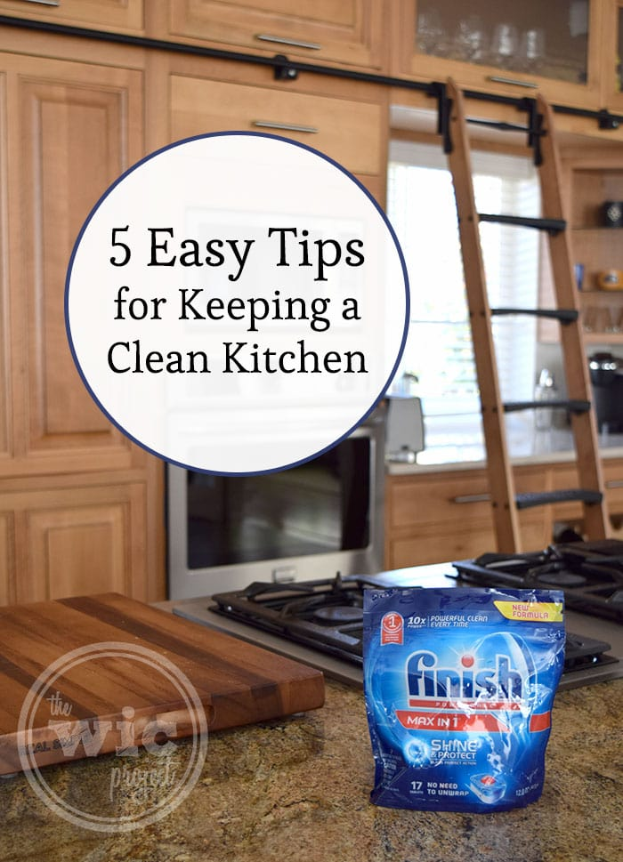 5 Easy Tips for Keeping a Clean Kitchen