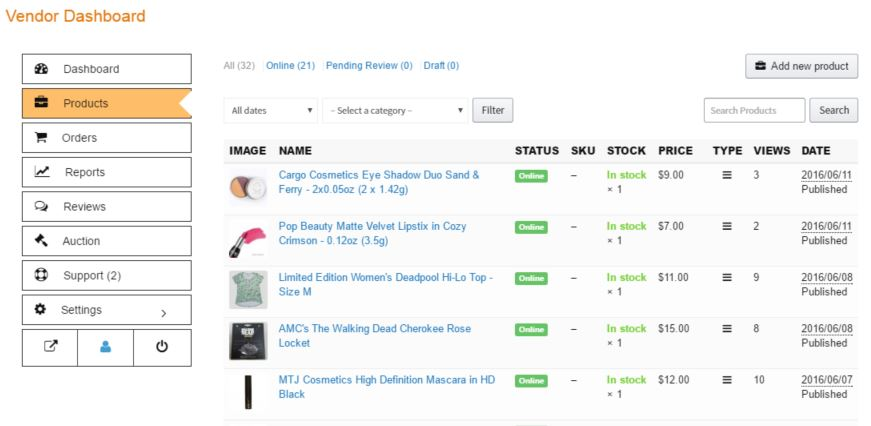 The Aftermarket at Find Subscription Box - Product Dashboard