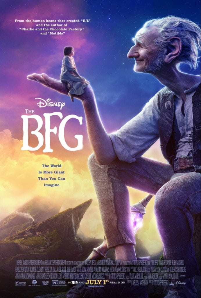 Disney's The BFG Movie Poster