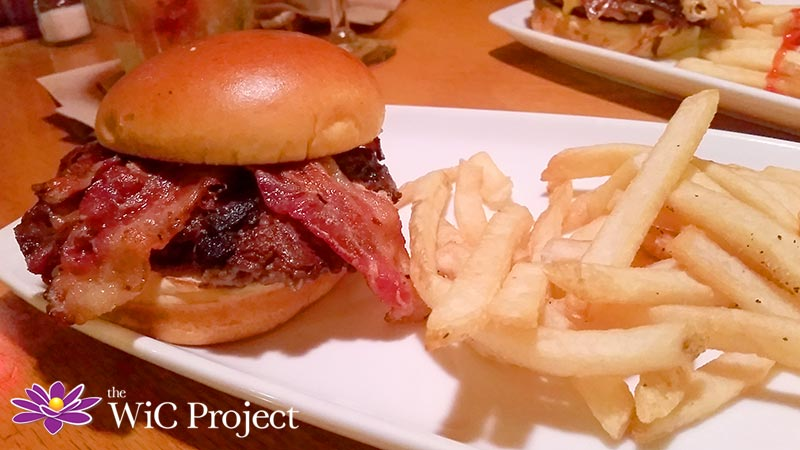 Applebee's Triple Bacon Burger