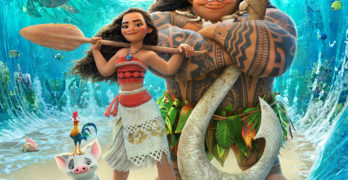 Disney's MOANA Movie Poster