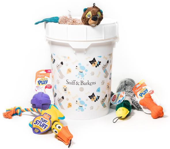 The Only Gift Your Dog Needs This Holiday Season - The Barkens Bucket by Sniff & Barkens