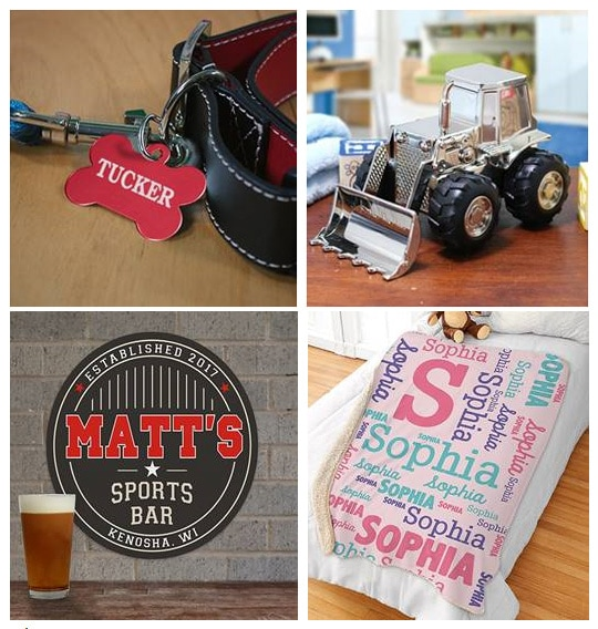 Personalized Must-Have Holiday Gifts from GiftsForYouNow.com