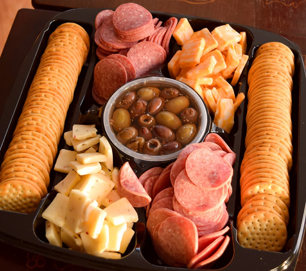 Enjoy Easy Game Day Appetizers with HORMEL GATHERINGS Party Trays