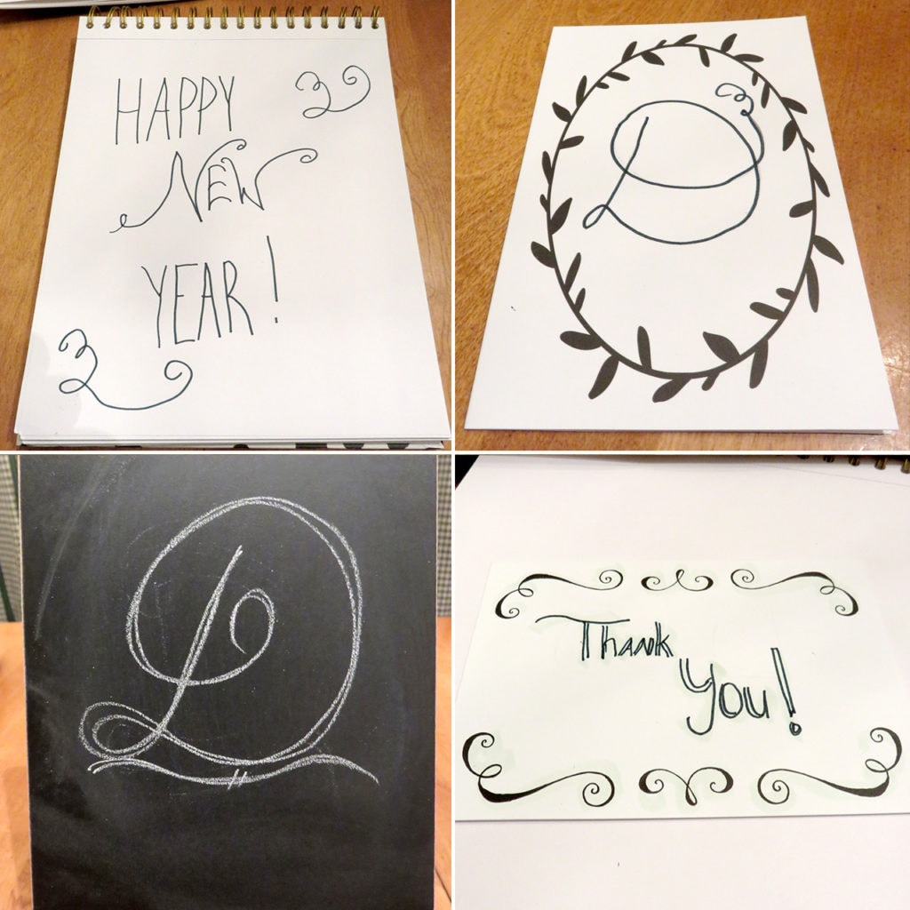An Easy Way to Learn Hand Lettering - Creative Lettering and Beyond Art & Stationery Kit