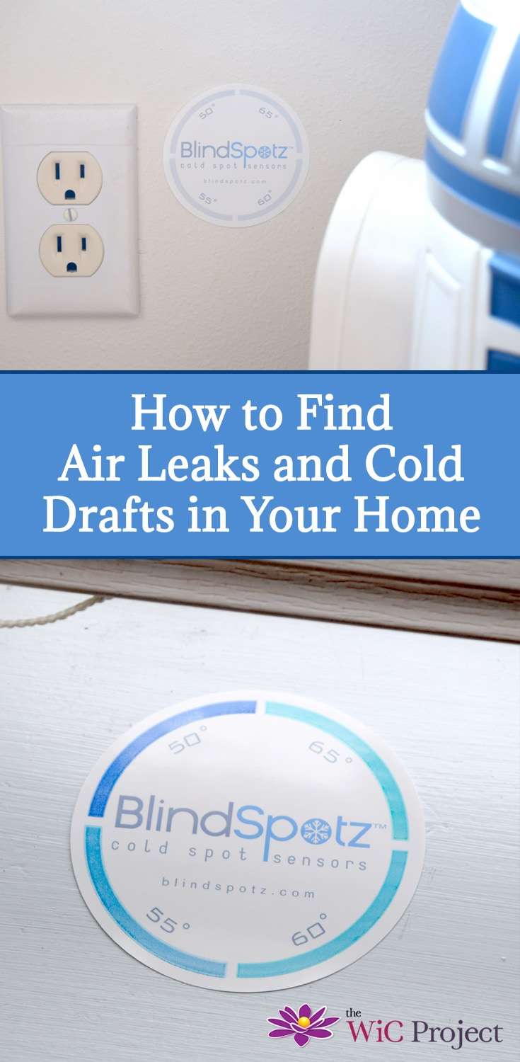 How to Find Air Leaks in Your Home with BlindSpotz DIY Cold Sensors