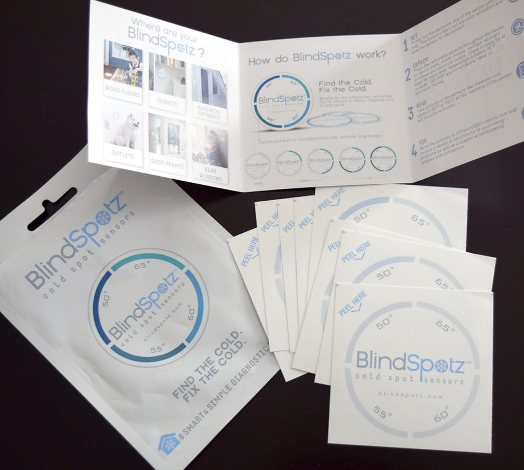 How To Find Air Leaks In Your Home With Blindspotz Cold