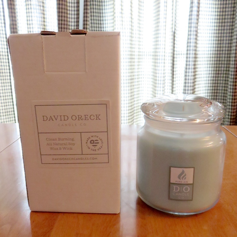 Freshen Your Home With David Oreck Candle Co.