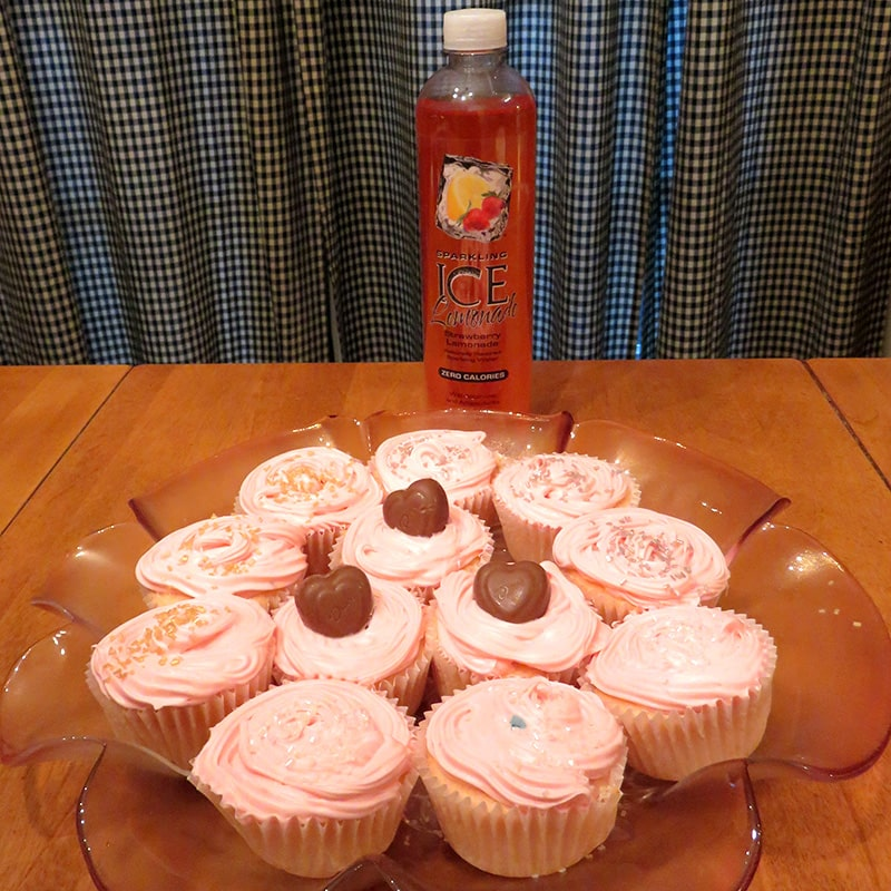 Cupid's Cupcakes featuring Sparkling Ice