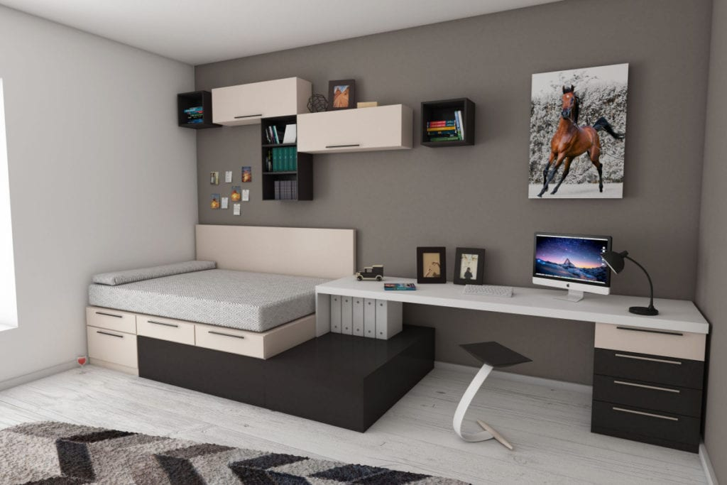 Simple Storage Hacks For Small Bedrooms
