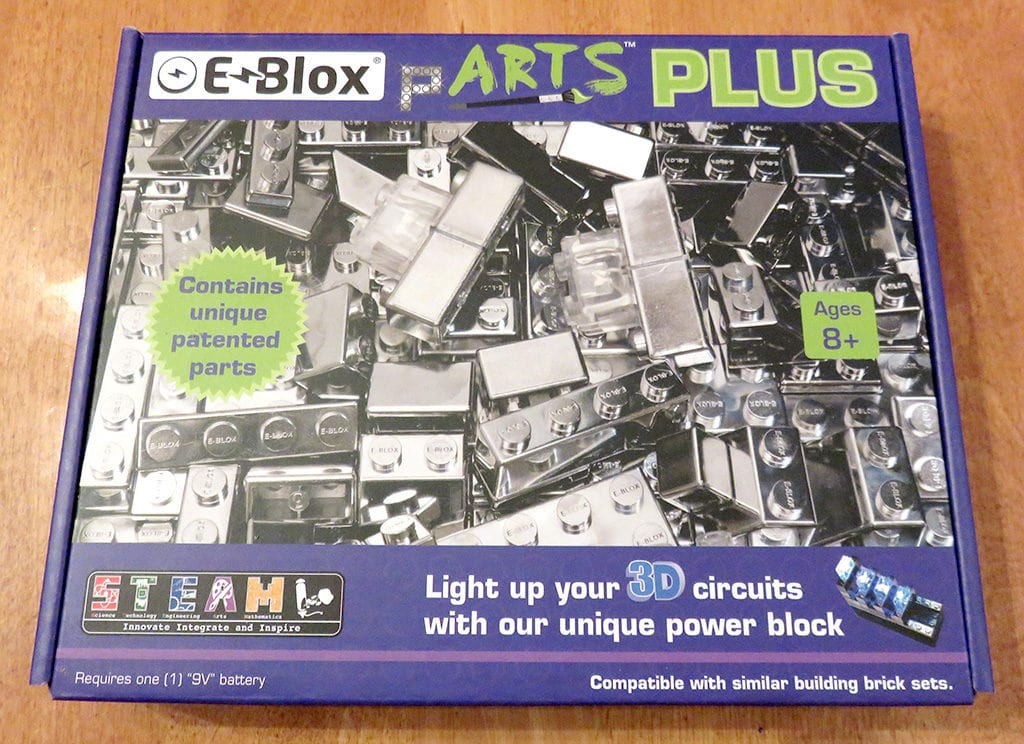 E-Blox pARTS PLUS Kit - STEAM, STEM Building Bricks