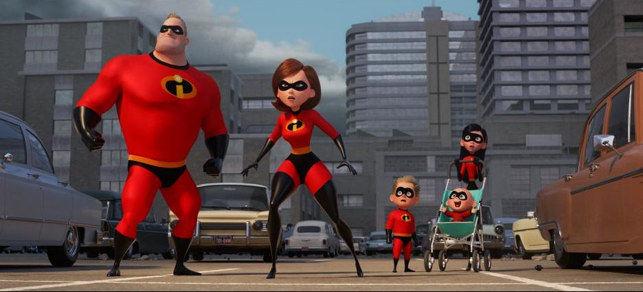 Disney/PIXAR's Incredibles 2 Movie