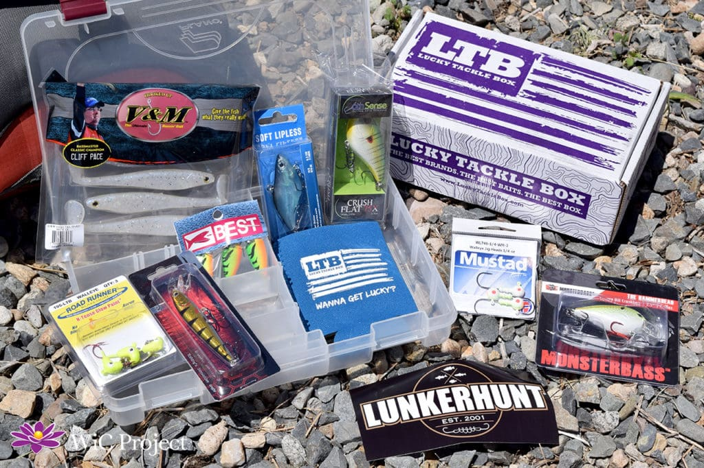 Assortment of Walleye Lures in Lucky Tackle Box Subscription Box